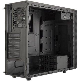 MasterBox E500L (Fenêtre) - ArgentBoitier moyen tour ATX Micro ATX sans alimentation Oui Mini ITX 140 mm 2 2 5 1 Plastique, Acier Argent