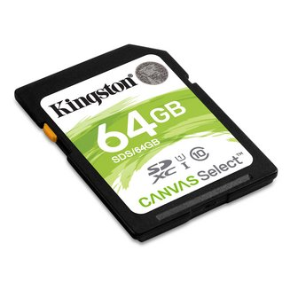 Canvas Select SDS/64GBSDXC 64 Go