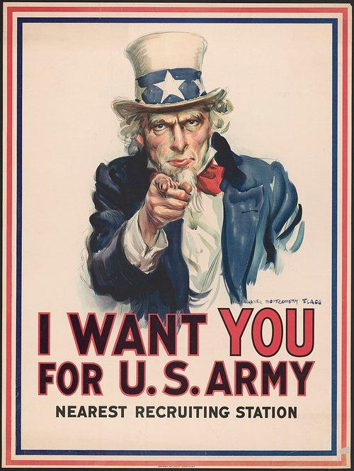 i want you recrutement