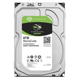 BarraCuda - 8 To SATA III (ST8000DM004)Interne 7200 tours / minute 8 To 650 g