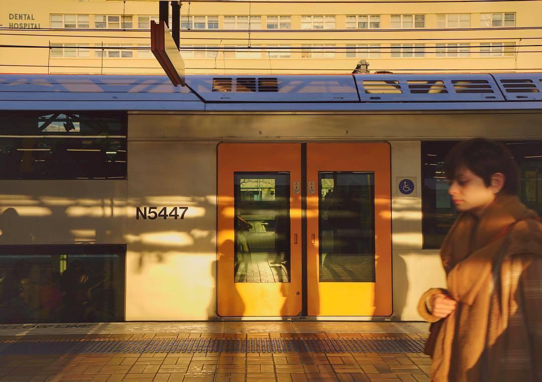 Un train à Sydney