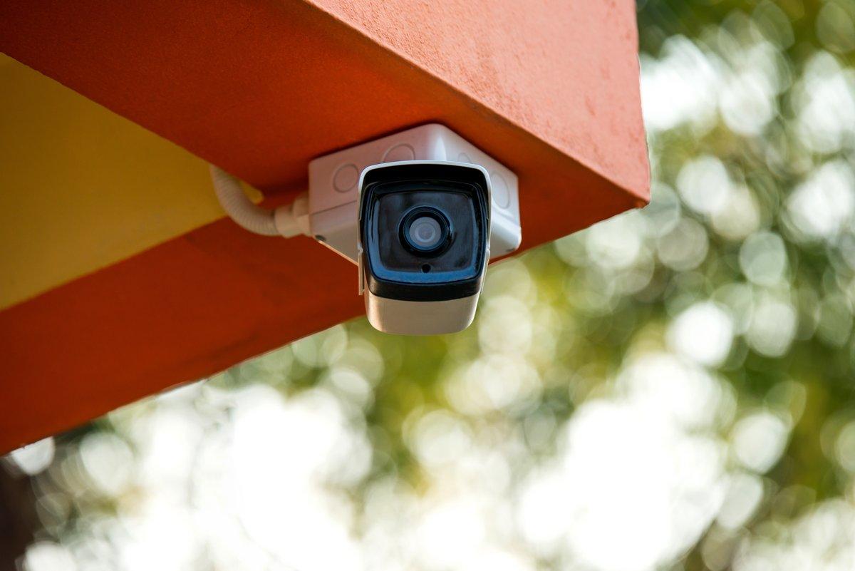 Fotolia caméra surveillance intérieur
