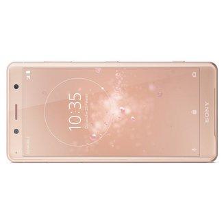 Xperia XZ2 Compact - Rose corailMonobloc Edge avec flash 3G avec autofocus avec GPS avec écran tactile avec WiFi 3G+ 3G++ avec stabilisateur d'image Xperia Android 64 Go 5 pouces 4G LTE Smartphone Double SIM USB 4 Go avec zoom optique DLNA Barre FLAC Bluetooth 5.0 Compact avec APN 19 Mpixels HSUPA 3G HSDPA+ 4G+ Qualcomm Snapdragon 845 Octo-core 2,8 GHz Micro SD jusqu'à 400 Go Rose corail