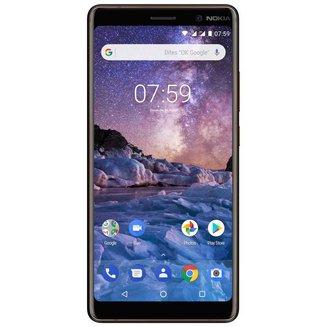 7 Plus - NoirMonobloc Edge avec flash 3G avec autofocus avec GPS avec écran tactile avec WiFi 3G+ Android 64 Go 6 pouces 2,2 GHz 4G LTE Smartphone Double SIM USB NFC 4 Go avec zoom optique Barre MicroSD jusqu'à 256Go Bluetooth 5.0 HSUPA 4G+ Qualcomm Snapdragon 660 Octo-core avec APN 25 Mpixels Noir