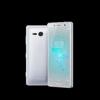 Xperia XZ2 Compact - Blanc argentéMonobloc Edge avec flash 3G avec autofocus avec GPS avec écran tactile avec WiFi 3G+ 3G++ avec stabilisateur d'image Xperia Android 64 Go 5 pouces 4G LTE Smartphone Double SIM USB 4 Go avec zoom optique DLNA Barre FLAC Bluetooth 5.0 Compact avec APN 19 Mpixels HSUPA 3G HSDPA+ 4G+ Qualcomm Snapdragon 845 Octo-core 2,8 GHz Micro SD jusqu'à 400 Go Blanc argenté