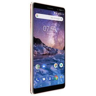 7 Plus - BlancMonobloc Edge avec flash 3G avec autofocus avec GPS avec écran tactile avec WiFi 3G+ Android 64 Go 6 pouces 2,2 GHz 4G LTE Smartphone Double SIM USB NFC 4 Go avec zoom optique Barre MicroSD jusqu'à 256Go Bluetooth 5.0 HSUPA 4G+ Qualcomm Snapdragon 660 Octo-core avec APN 25 Mpixels Blanc