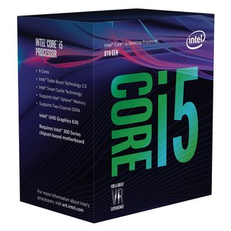 Core i5-8600 (3.1 GHz)Intel Core i5 Intel Socket 1151 Intel 3 an(s) 9 Mo UHD Graphics 630 3,1 GHz