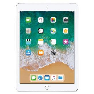 iPad avec écran Rétina Argent - 128 Go Wi-Fi + 4G (MR732NF/A)9,7 pouces iPad 3G Tablette 10 Heure(s) 128Go 4:3 iOS 2048 x 1536 Écran Retina Bluetooth 4.2 4G LTE IPS LED Tactile Apple A10 Apple A10 Fusion Wi-Fi AC Apple iOS 11
