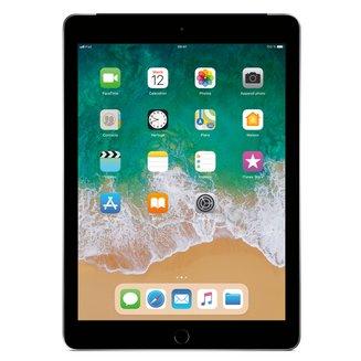 iPad avec écran Rétina Gris Sidéral - 128 Go Wi-Fi + 4G (MR722NF/A)9,7 pouces iPad 3G Tablette 10 Heure(s) 128Go 4:3 iOS 2048 x 1536 Écran Retina Bluetooth 4.2 4G LTE IPS LED Tactile Apple A10 Apple A10 Fusion Wi-Fi AC Apple iOS 11 478 g