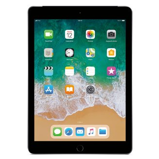 iPad avec écran Rétina Gris Sidéral - 32 Go Wi-Fi + 4G (MR6N2NF/A)32Go 9,7 pouces iPad 3G Tablette 10 Heure(s) 4:3 iOS 2048 x 1536 Écran Retina Bluetooth 4.2 4G LTE IPS LED Tactile Apple A10 Apple A10 Fusion Wi-Fi AC Apple iOS 11 478 g