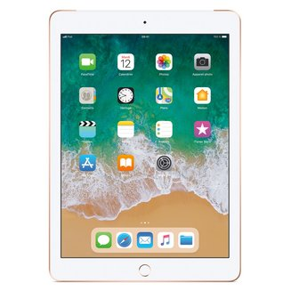 iPad avec écran Rétina Or - 32 Go Wi-Fi + 4G (MRM02NF/A)32Go 9,7 pouces iPad Tablette 10 Heure(s) 4:3 iOS 2048 x 1536 Écran Retina Bluetooth 4.2 4G LTE IPS LED Tactile Apple A10 Apple A10 Fusion Wi-Fi AC Apple iOS 11 478 g