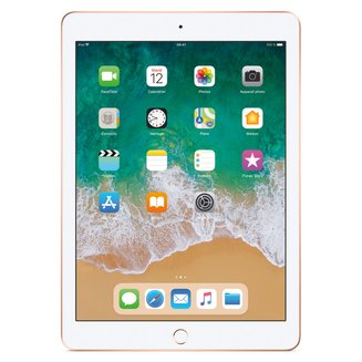 iPad avec écran Rétina Or - 32 Go Wi-Fi (MRJN2NF/A)32Go 9,7 pouces iPad Tablette 16:10 16:9 10 Heure(s) 4:3 iOS 2048 x 1536 Écran Retina Bluetooth 4.2 IPS LED Tactile 469 g Apple A10 Apple A10 Fusion Wi-Fi AC Apple iOS 11