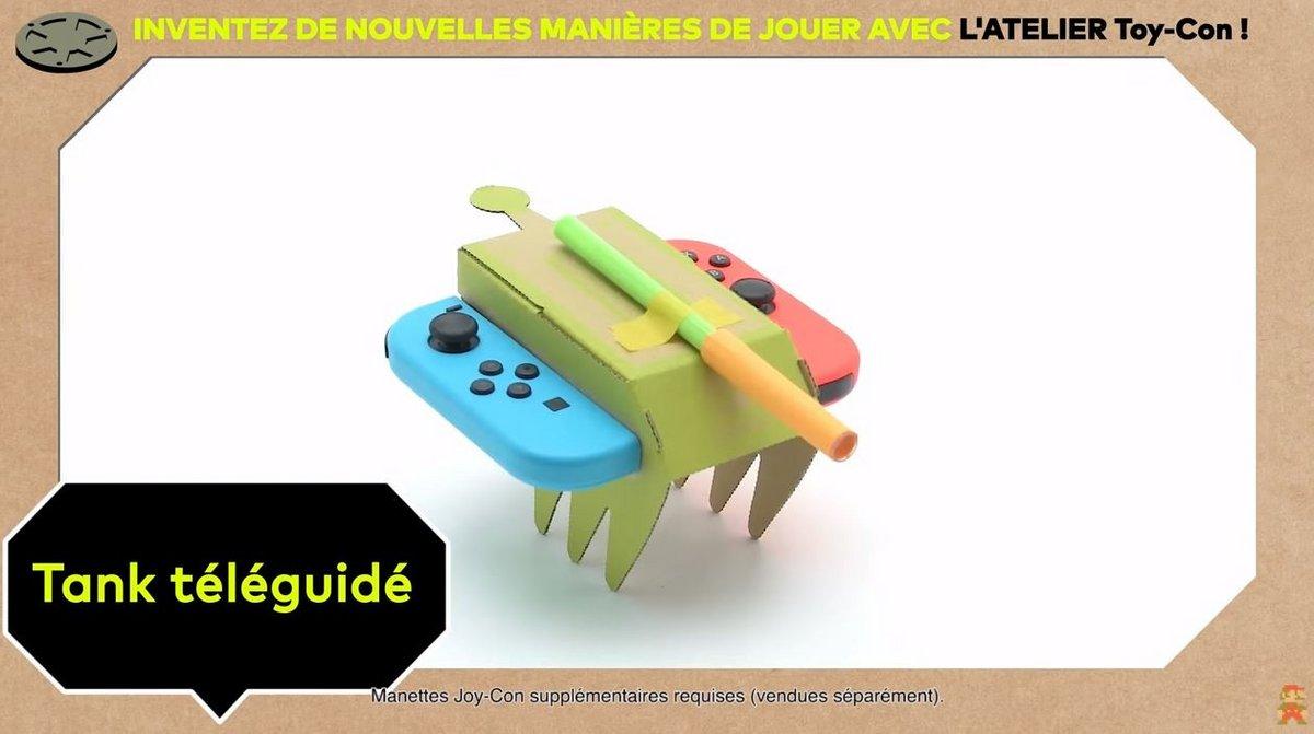 Voiture téléguidée Nintendo Labo