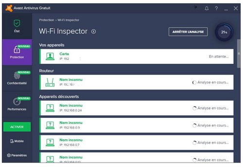 avast protection wifi comparatif antivirus 2018