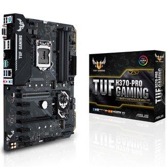 TUF H370 PRO GAMINGATX 4 Oui Oui avec chip graphique intégré 64 Go 0 1 5 10 Serial ATA III Intel Intel Realtek 6 ALC887 2 Intel Socket 1151 8 DDR4 4 x PCI Express 3.0 x1 7 HD graphics Intel I219V 5 1 X PCI Express 3.0 16x (4x) 1 x PCI-Express 3.0 x16 (x16) Intel H370