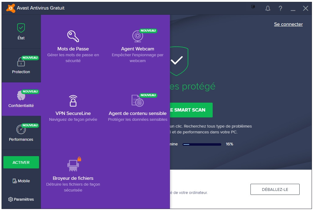 antivirus smart security gratuit clubic