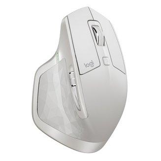 MX Master 2S - BlancAvec molette sans fil USB Laser Souris Pour Droitier Uniquement 4000 dpi 2 an(s) 7 Blanc