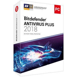 Bitdefender Antivirus Plus 2018 (2 ans 3 postes)Windows Logiciels antivirus et sécurité BitDefender