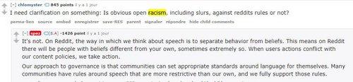 reddit racisme
