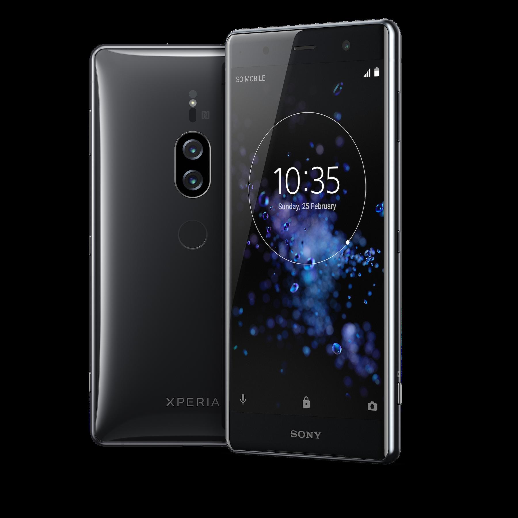 Xperia Xz2 Premium Sony D 233 Voile Une Version Boost 233 E Du