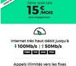 Bon plan RED by SFR : La fibre 1 Gb/s à 15€ / mois sans engagement à vie !
