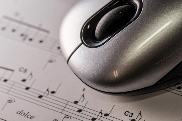 musique partition souris