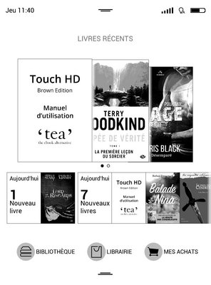 tea touch hd brown edition