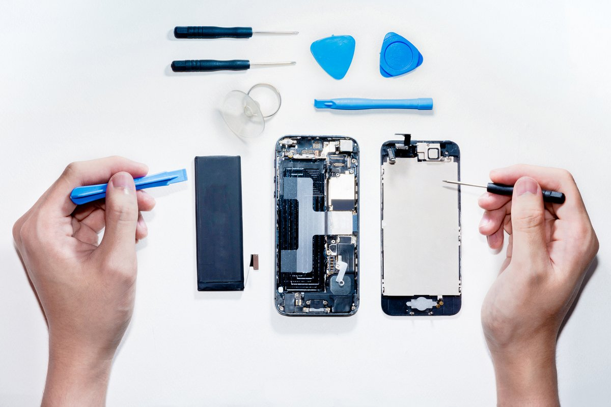 reparation smartphone fotolia