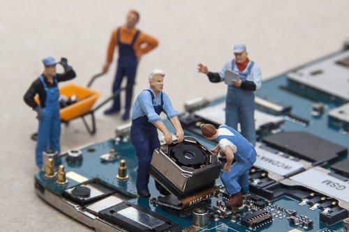 pièce détachée composant smartphone réparation fotolia