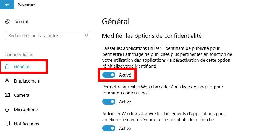 Tuto Windows 10 intrusif 1