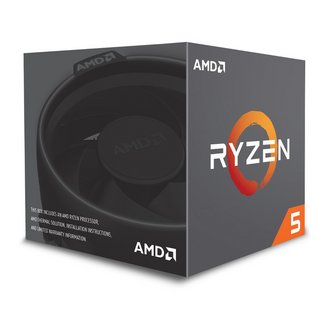 Ryzen 5 2600X Wraith Spire Edition (3,6 GHz)Hexa-core (6 Core) 20 Mo AMD 3 an(s) 3,60 GHz AMD Ryzen 5 Socket AM4