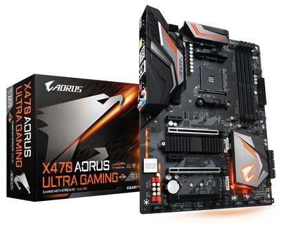 X470 AORUS ULTRA GAMINGATX 4 Oui Oui avec chip graphique intégré AMD AMD 64 Go 0 1 10 Serial ATA III Realtek 7.1 6 4 10 3 an(s) AMD 6 DDR4 3 x PCI-Express 3.0 x16 Socket AM4 ALC 1220 Radeon série R AMD X470