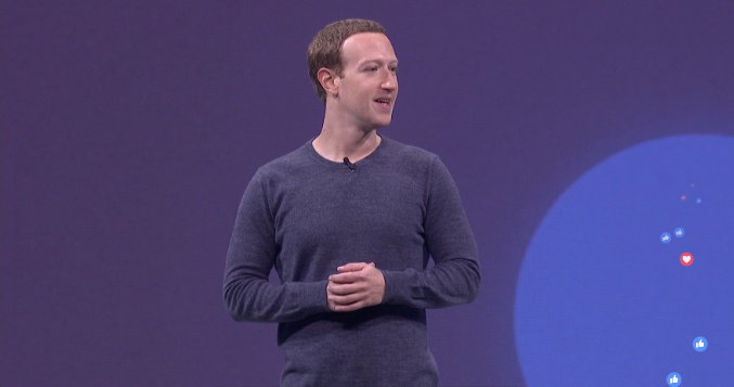mark zuckerberg f8 2018