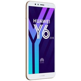 Y6 2018 - OrMonobloc Edge avec flash 3G avec autofocus avec GPS avec écran tactile 16 Go avec WiFi 3G+ 3G++ Android avec APN 13 Mpixels 4G LTE Smartphone Double SIM Bluetooth 4.2 2 Go 1,4 GHz 5,7 pouces avec lecteur d'empreinte digitale Barre micro-USB MicroSD jusqu'à 256Go HSDPA HSUPA 4G+ avec zoom numérique Y6 2018 Qualcomm Snapdragon 425 MSM8917 Quad-core Or