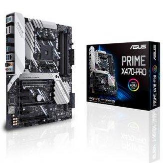 PRIME X470-PROATX 4 Oui Oui avec chip graphique intégré AMD AMD 64 Go 0 1 10 Serial ATA III Realtek 7.1 6 8 3 an(s) AMD DDR4 8 3 x PCI-Express 3.0 x16 Intel I211-AT Socket AM4 ALC 1220 Radeon série R AMD X470