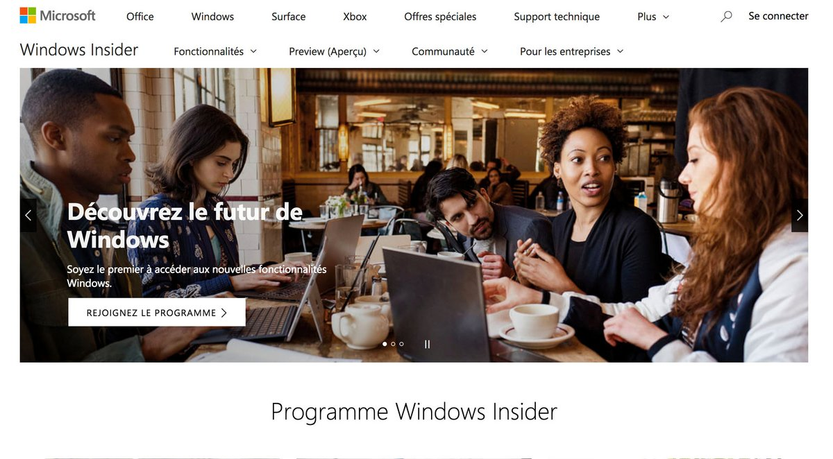 Tuto Windows Insider 2