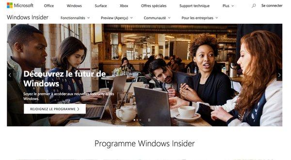 tuto windows insider 2