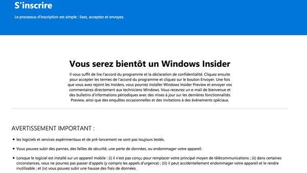 tuto windows insider 4
