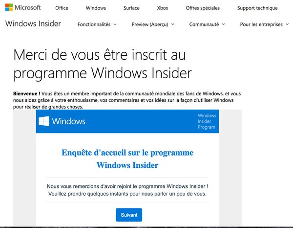 tuto windows insider 5