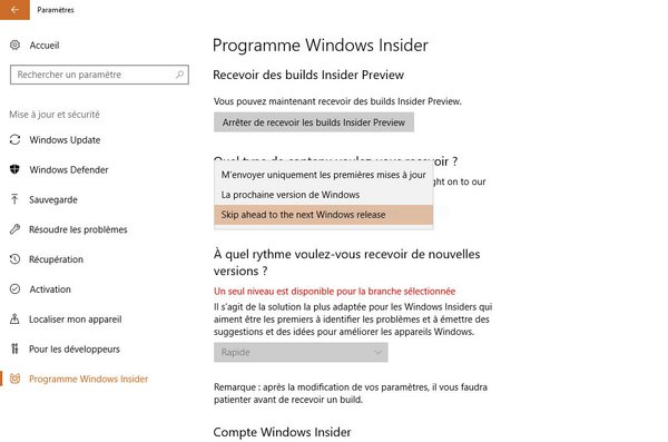 tuto windows insider 6