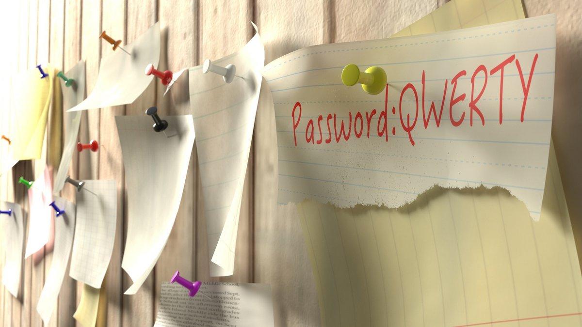 mot de passe password qwerty fotolia