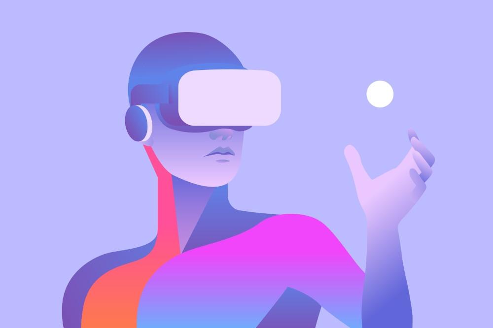 Fotolia casque réalité virtuelle VR concept