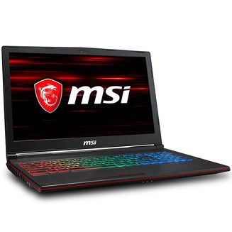 GP63 8RD-084XFR Leopard1 To 1920 x 1080 Intel Core i7 8 Go 256 Go Oui 15,6 pouces 16:9 6 Cellules 2 an(s) 32 Go FreeDOS NVIDIA GeForce GTX 1050 Ti 2,2 kg Intel Core i7-8750H Hexa Core Bluetooth 5.0