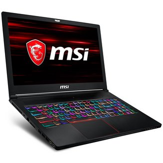 GS63 8RE-017FR Stealth1920 x 1080 Intel Core i7 16 Go 256 Go Oui 15,6 pouces 16:9 2 To 3 Cellules NVIDIA GeForce GTX 1060 2 an(s) 32 Go 1,89 kg Windows 10 Famille 64 bits Intel Core i7-8750H Hexa Core Bluetooth 5.0