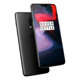 OnePlus 6 Noir Brillant 64 GOMonobloc avec GPS avec écran tactile avec WiFi avec stabilisateur d'image Android 4G LTE Smartphone Double SIM avec APN 16 Mpixels avec APN 20 Mpixels 6 Go Bluetooth 5.0 8 Go Qualcomm Snapdragon 845 Octo-core 2,8 GHz OnePlus 6 6,28 pouces 64 Go Noir Brillant