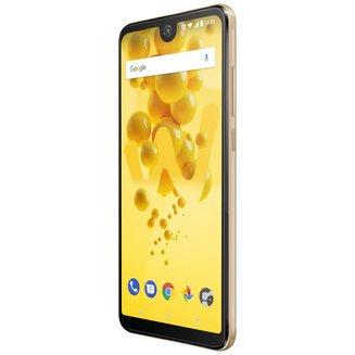 View 2 - 32 Go - OrMonobloc Edge avec flash 3G avec autofocus avec GPS avec écran tactile avec WiFi 3G+ 3G++ avec stabilisateur d'image 32 Go Android avec APN 13 Mpixels 6 pouces 4G LTE Smartphone Double SIM Bluetooth 4.2 1,4 GHz 3 Go Avec Radio FM Barre microSD, jusqu'à 128 Go HSDPA HSUPA avec zoom numérique HSPA+ View 2 Qualcomm Snapdragon 435 Octo-core Or