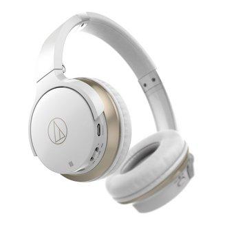 ATH-AR3BT - Blancsans fil 190 grammes Bluetooth 10 mètres 5 Hz à 35 KHz Jack 3,5 mm Supra-auriculaire NFC Blanc
