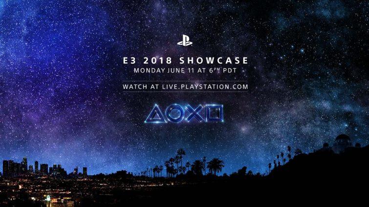 e3 2018 playstation showcase