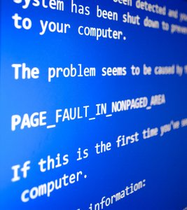 fotolia blue screen of death
