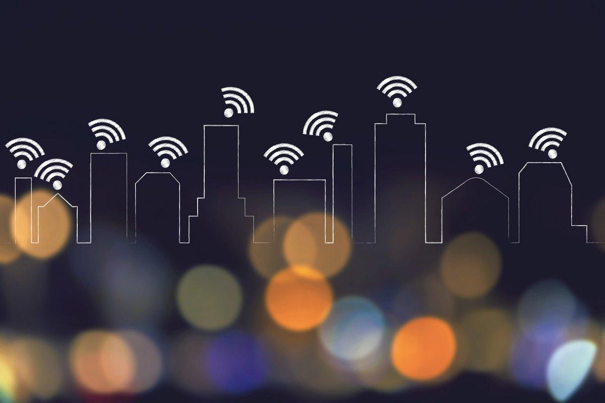 Fotolia réseau sans fil WiFi